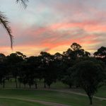 sunset at Cammeray Golf Club