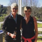 Celebrating a hole in one at Cammeray Golf Club