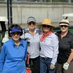 Lady golfers on fundraising day at Cammeray Golf Club