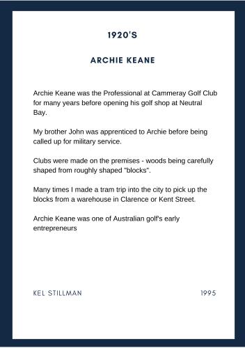 Archie Keane