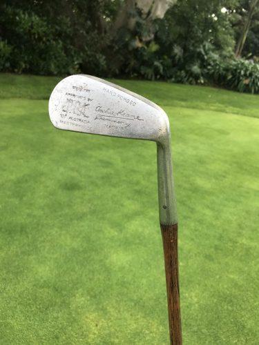 Handmade golf clubs
