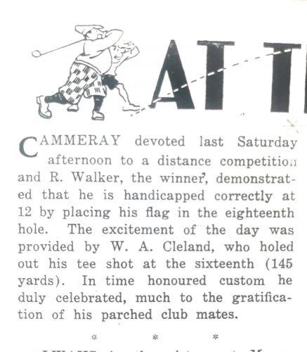 1931 The Golfer 15.10.31