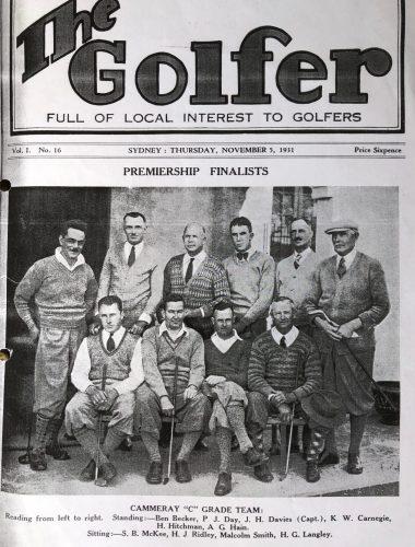 The Golfer, 1931.  Source - Max Reynolds