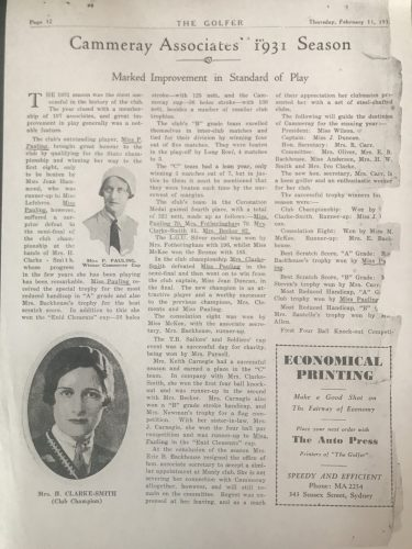 The Golfer - 11 February 1932