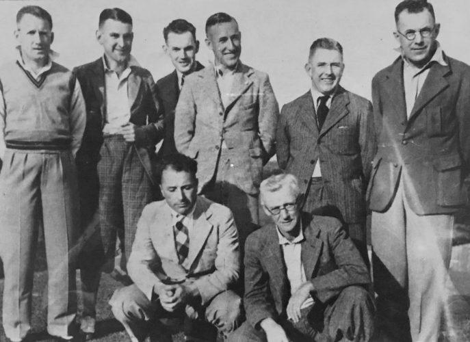 1937 B Grade Premiers - Cammeray victors over North Brighton