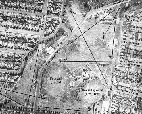1937 RTA Aerial Map