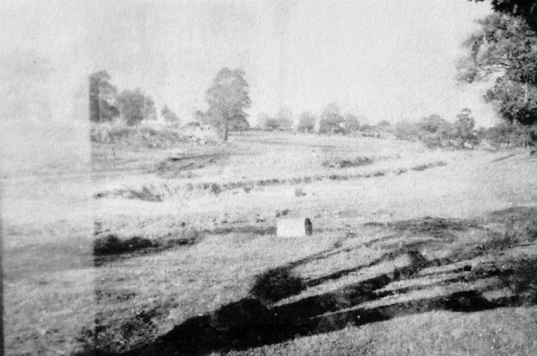 Old 6th fairway.  Cammeray Road on left.