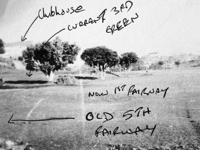 Old 5th fairway