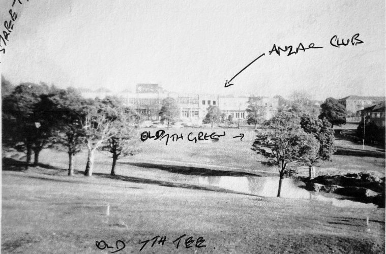 Old 7th tee. Area now express way
