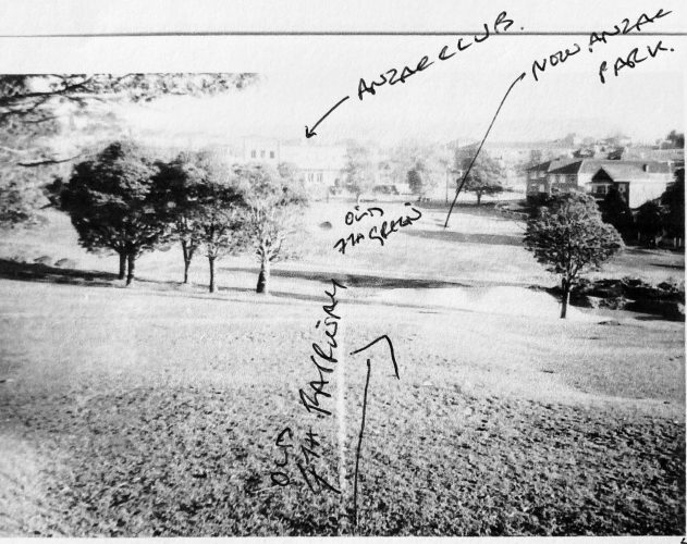 Old 7th hole