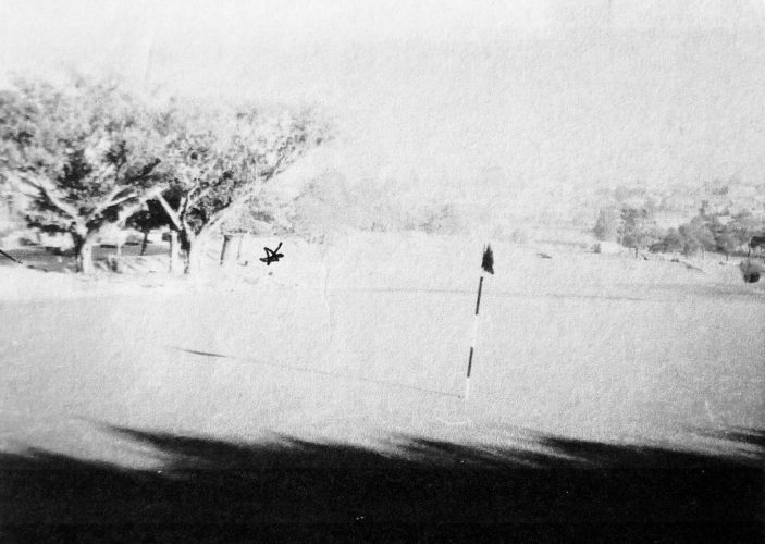 Old 9th green * believed to be current 9th tee
