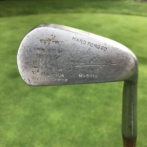 Hand made golf clubs by Cammeray Golf Club professional Archie Keane.