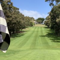 First hole at Cammeray Golf Club
